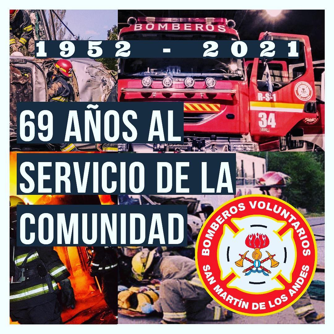 bomberos 69 años