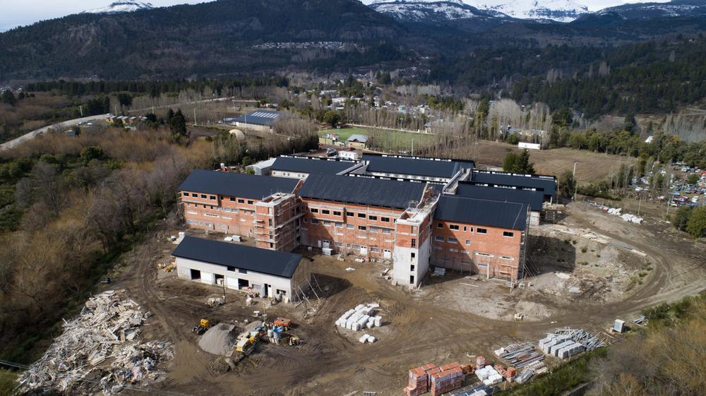 hospital nuevo desde el cielo