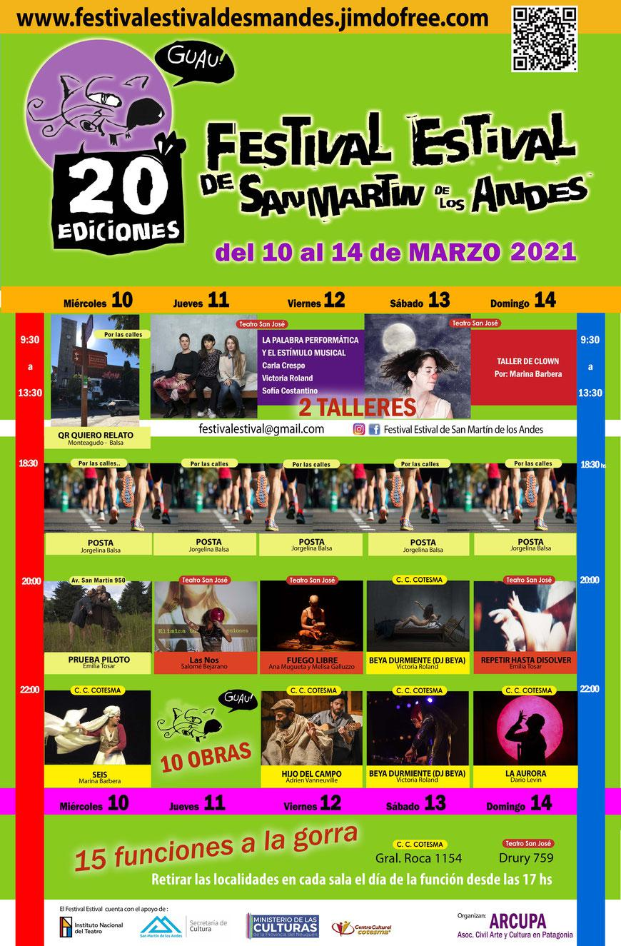 festival estival programa