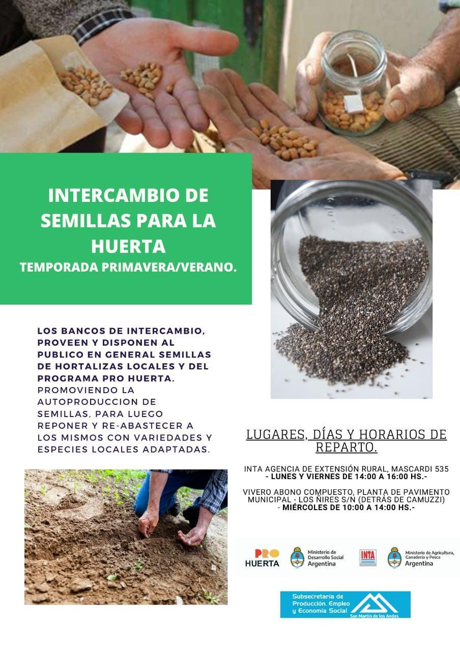 intercambio de semillas